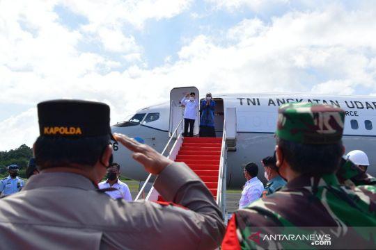 Wapres menuju Papua untuk kunjungan kerja