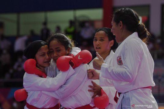 KONI Pusat apresiasi kesuksesan karate di PON Papua