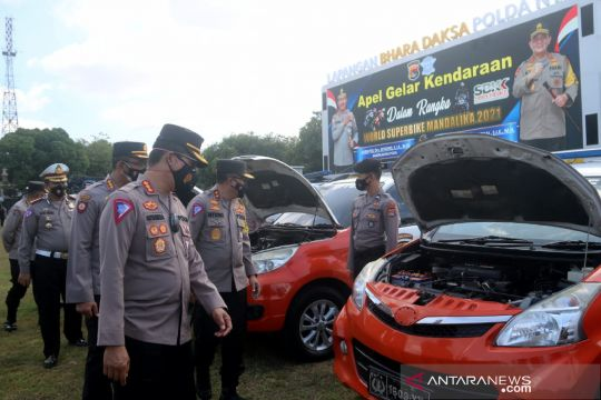 Korlantas Polri akan suplai tambahan kendaraan patroli pengawalan WSBK