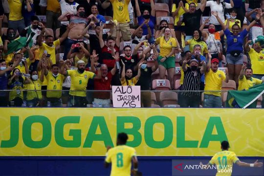 Kualifikasi Piala Dunia 2022 : Brasil vs Uruguay