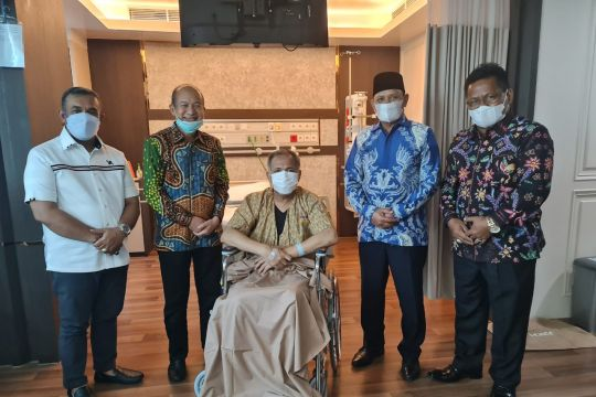 Gubernur Aceh sudah bisa dijenguk di RSCM