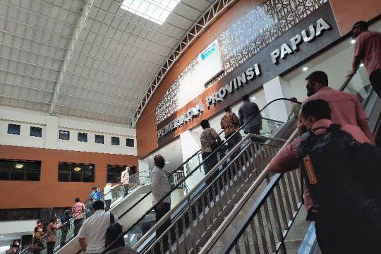 Wapres rapat koordinasi terpadu bersama forkompimda di Papua
