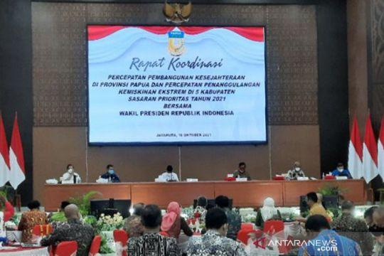 Ma'ruf Amin minta kepala daerah di Papua perkuat perencanaan