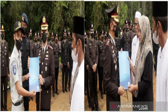 Jasa Raharja serahkan santunan untuk personel Brimob tewas di Papua
