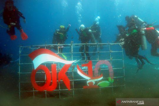 Konservasi terumbu karang OJK di Manado