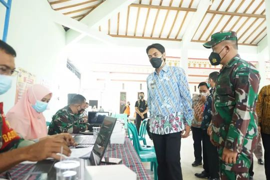Pemberian vaksin COVID-19 di Kabupaten Madiun capai 53,93 persen
