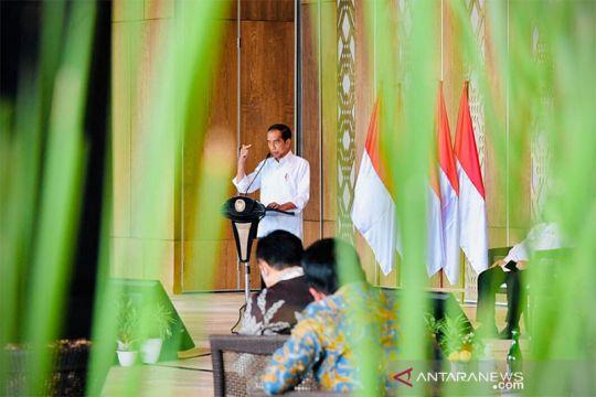 Presiden Jokowi minta BUMN bermitra dengan perusahaan global