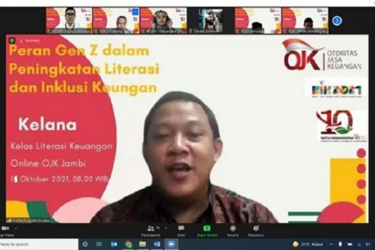 OJK Jambi: Gen Z berperan besar tingkatkan literasi keuangan