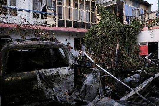 Keluarga korban serangan drone AS di Afghanistan ditawari uang duka