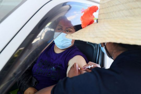 Selandia Baru vaksin 2,5 persen populasinya dalam sehari