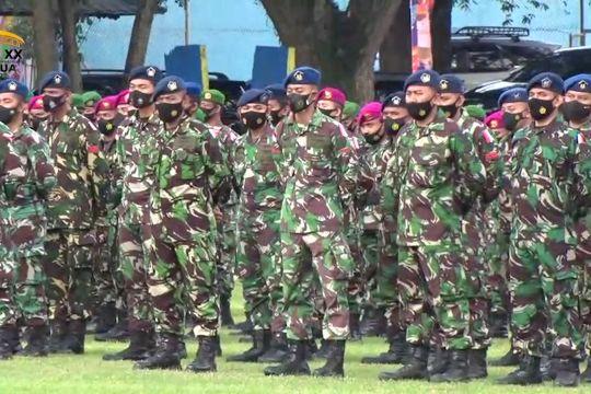 1600 personil TNI-Polri amankan penutupan PON XX Papua