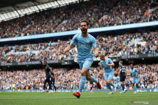 Manchester City menang meyakinkan 2-0 atas Burnley