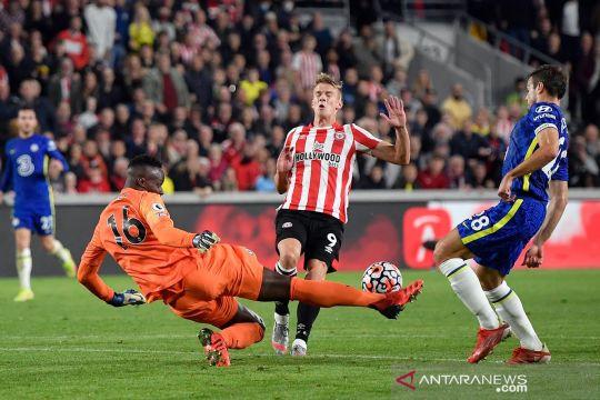 Liga Inggris : Edouard Mendy tampil gemilang bawa Chelsea kalahkan Brentford
