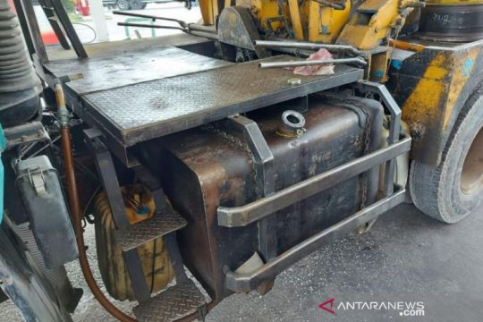Polda Riau: Pelaku timbun BBM bersubsidi gunakan mobil derek