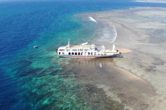 KKP: Perusahaan harus tanggung jawab akan kapal kandas di Lombok Timur