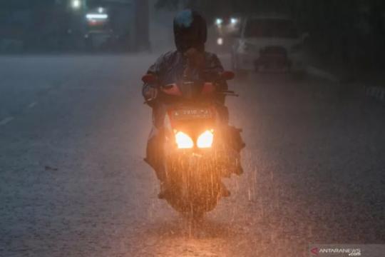 BMKG: Sejumlah daerah di Indonesia berpotensi hujan lebat