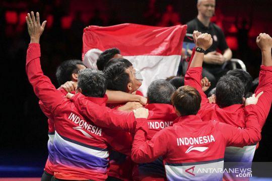 Jojo: Piala Thomas ini kami persembahkan untuk rakyat Indonesia