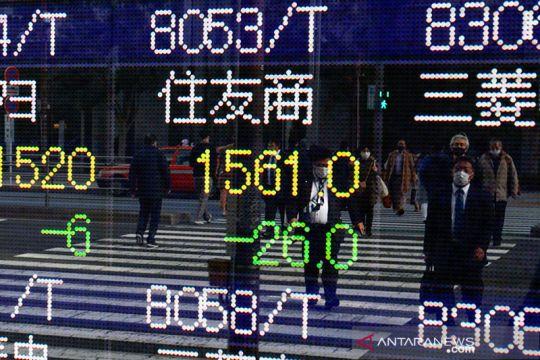 Saham Jepang merosot karena aksi ambil untung, pembuat mobil naik