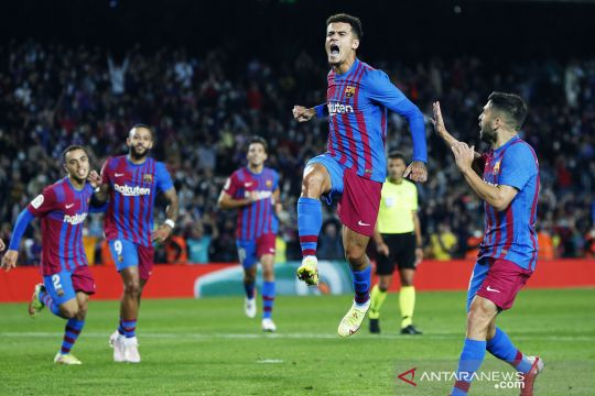 Liga Spanyol : Barcelona menang 3-1 atas Valencia