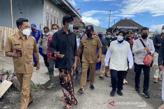 Mensos tekankan pentingnya antisipasi saat kunjungi daerah gempa Bali