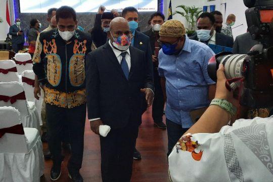 Gubernur Papua apresiasi penghargaan bagi 18 pemda peraih opini WTP