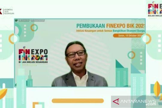 OJK tingkatkan literasi keuangan masyarakat dengan FinEXPO BIK 2021