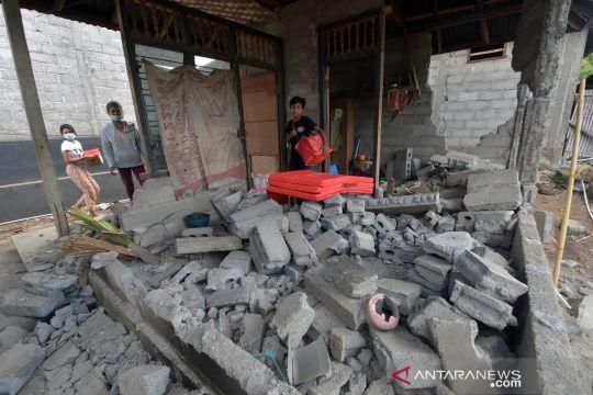 Kondisi Desa Ban di Karangasem pasca gempa magnitudo 4,8