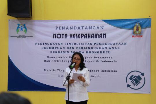 KPPPA tanda tangani MoU dengan Matakin berdayakan perempuan dan anak