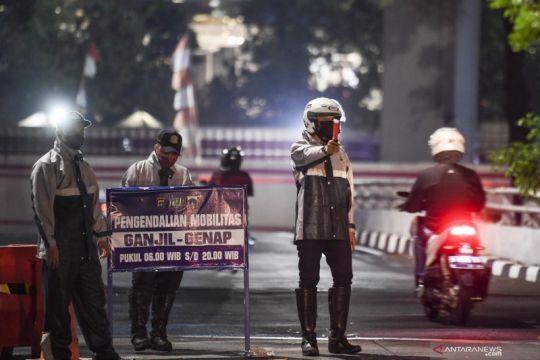 Polda Metro-Dishub DKI bahas penambahan ganjil genap
