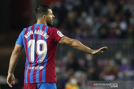 Aguero siap bantu Barca keluar dari posisi terjepit Liga Champions