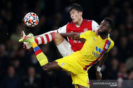 Liga Inggris:Crystal Palace tahan Arsenal 2-2