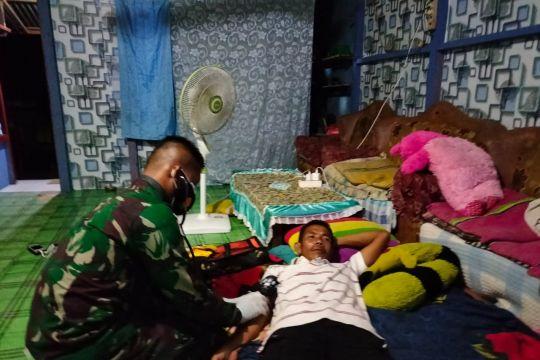 Satgas Pamtas selenggarakan pengobatan gratis di perbatasan Kalbar