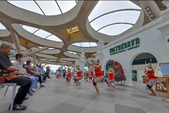 Bandara Internasional Yogyakarta gelar pentas seni dan pameran wayang