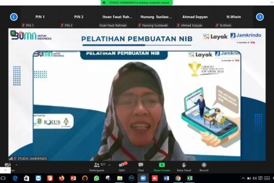 Jamkrindo beri pendampingan pendaftaran perizinan legalitas usaha UMKM