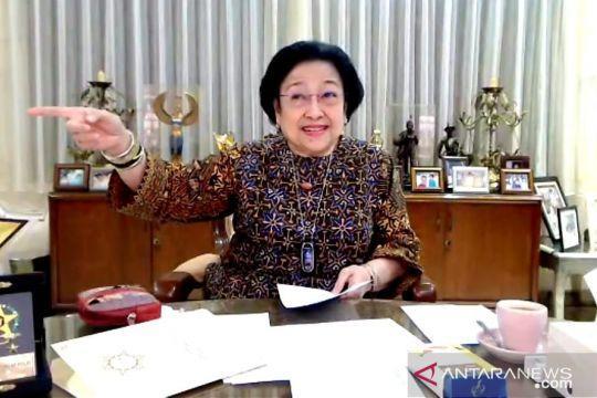 Megawati ingatkan anggota Polri sebagai abdi negara