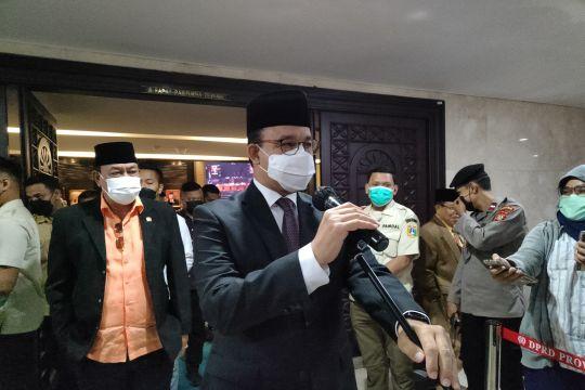 Ini kata Anies terkait PPKM level dua DKI Jakarta