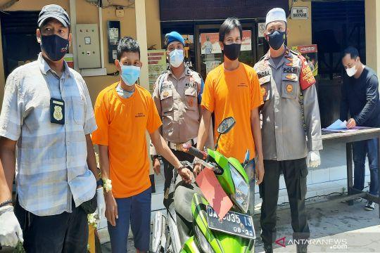 Polisi di Banjarmasin bongkar curanmor modus lowongan pekerjaan