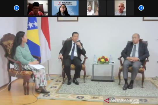 Dubes dorong peran diaspora tingkatkan bisnis Indonesia-Bosnia