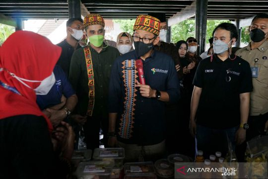 Menparekraf minta UMKM Aceh manfaatkan peluang saat PON 2024