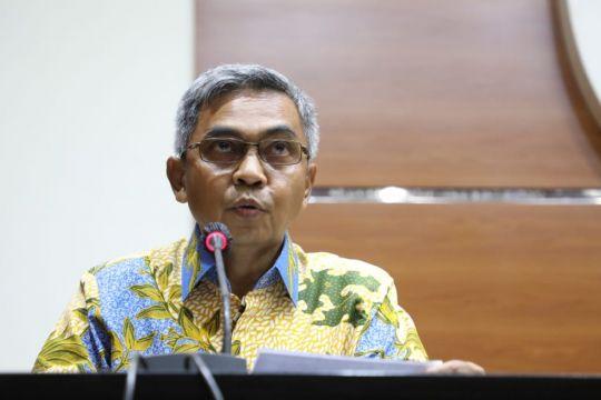 KPK menahan tersangka kasus korupsi proyek jalan di Bengkalis Riau