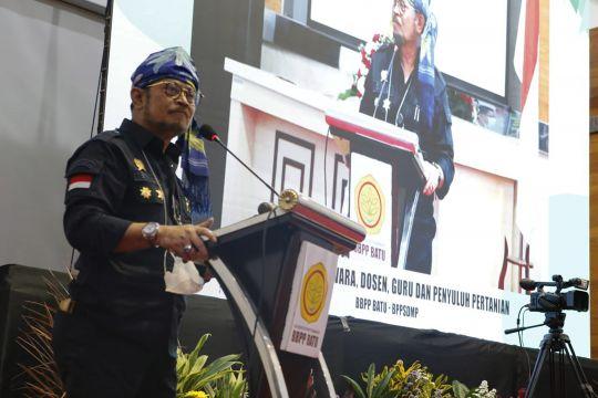Mentan Syahrul dorong widyaiswara cetak SDM unggul pertanian