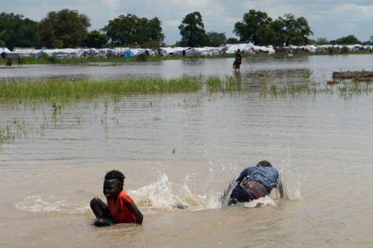 PBB: Banjir terburuk Sudan Selatan akibat perubahan iklim