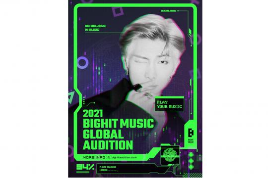 Big Hit Music buka audisi global untuk rekrut pria berbakat