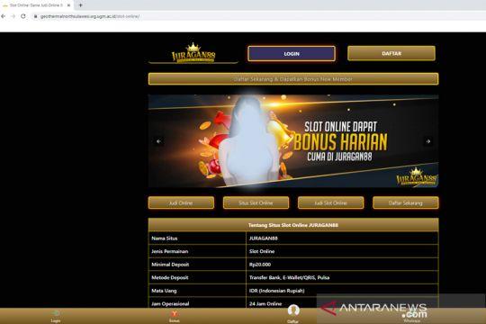 """Waspadai penyusupan iklan judi """"online"""" di situs pemerintah"""
