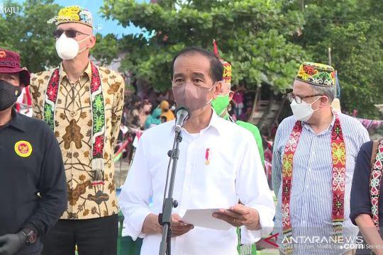 """Presiden Jokowi ajak dubes tinjau vaksinasi """"door to door"""" di Kaltara"""