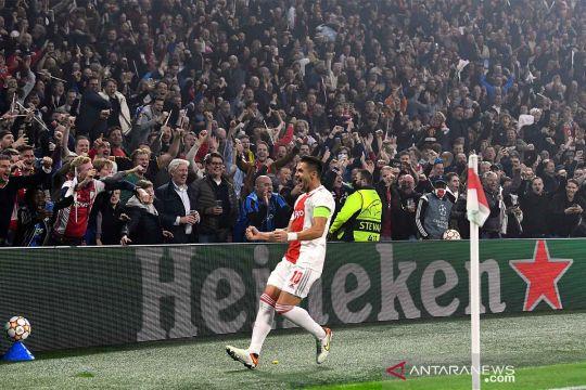 Liga Champions : Ajax melibas Dortmund 4-0