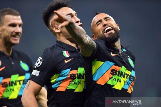 Inter petik tiga poin setelah hentikan perlawanan Sheriff Tiraspol