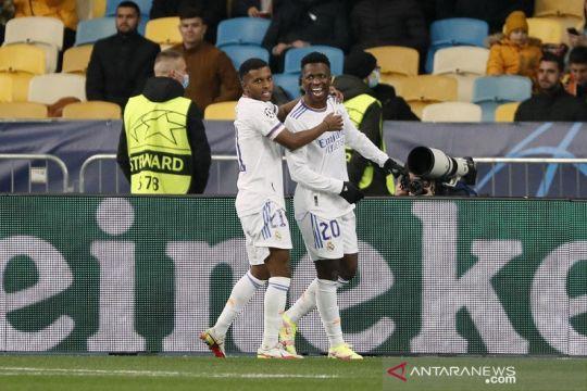 Real Madrid berondong gawang Shakhtar Donetsk lima gol tak berbalas