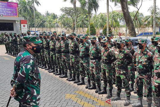 TNI kerahkan 140 nakes bantu percepatan vaksinasi di Tangerang