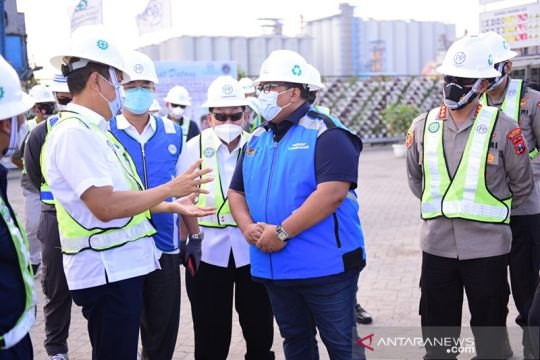 PT PP percepat pembangunan struktur dermaga Terminal Berlian Surabaya